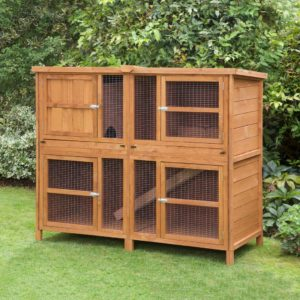 Home Roost Single Double Tier 5ft Guinea Pig Hutches