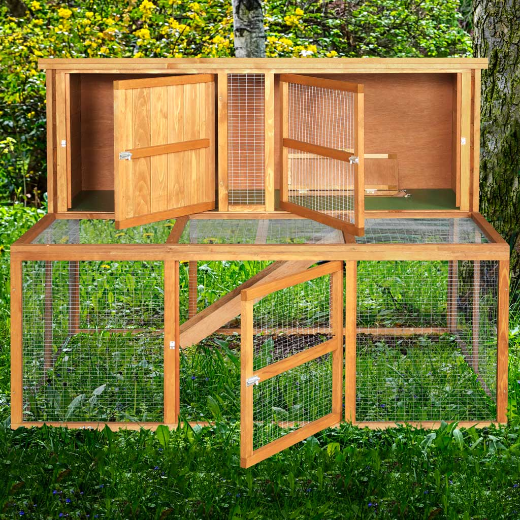 4ft Rabbit Hutches