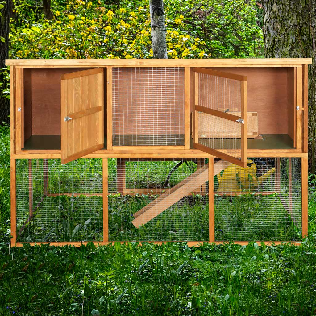 Home Amp Roost 6ft Kendal Rabbit Hutch And Run