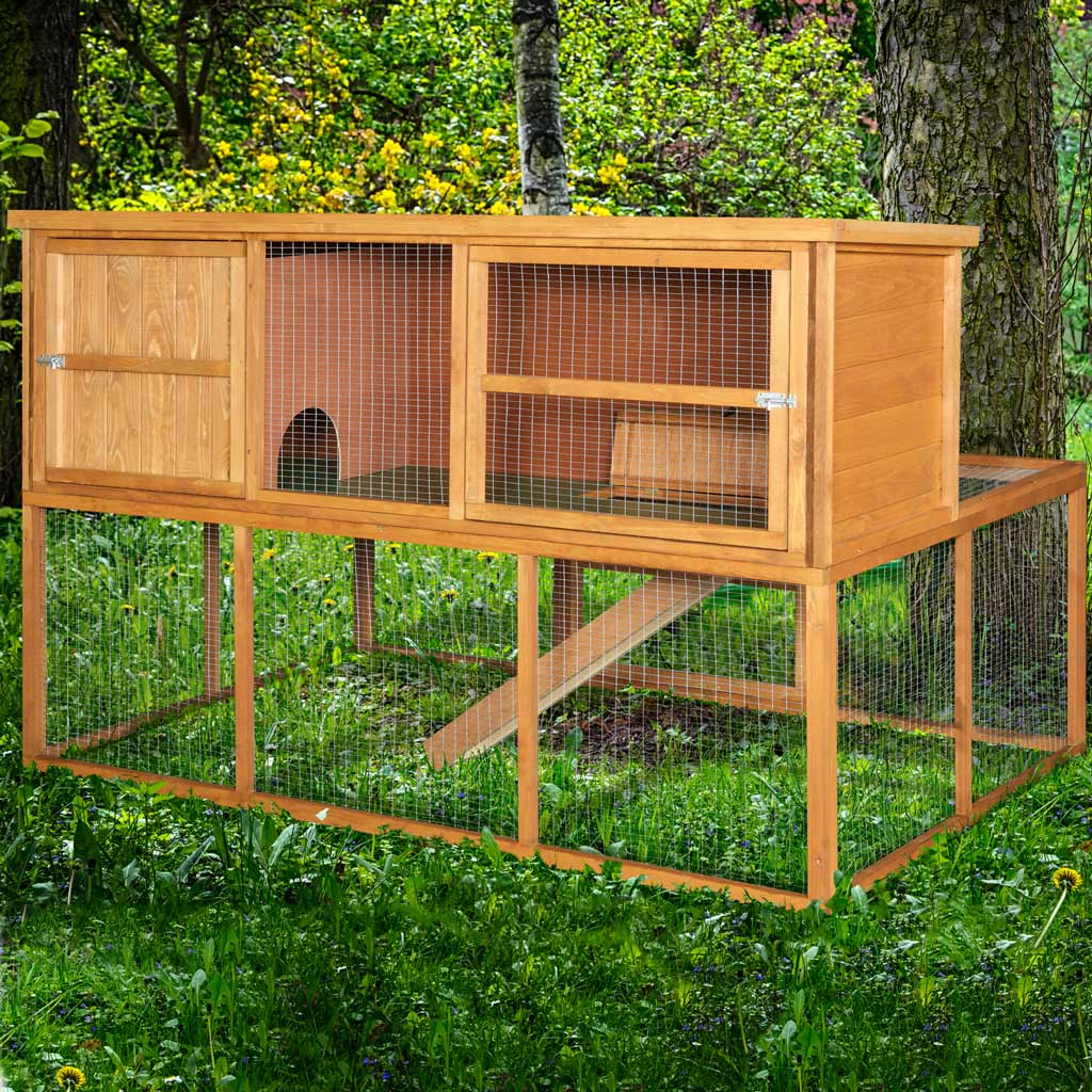 Home & Roost – 6ft Kendal Rabbit Hutch and Run