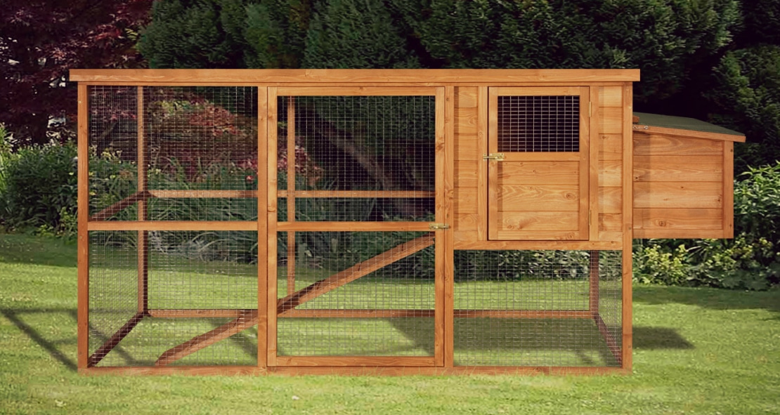 Home roost large starter chicken coop for Quick chicken coop