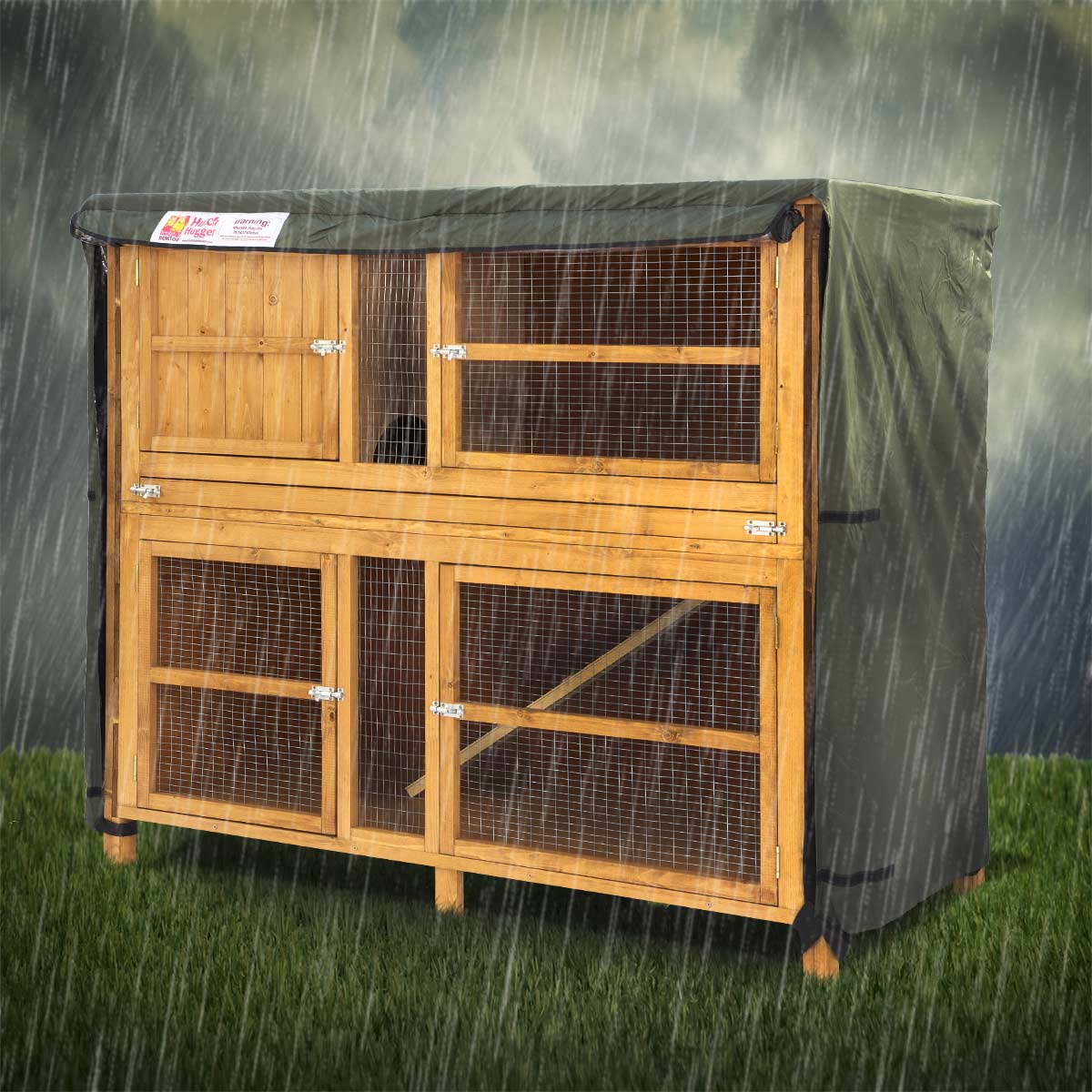 Scratch newton rabbit hutch cover for How to make a rabbit hutch from scratch