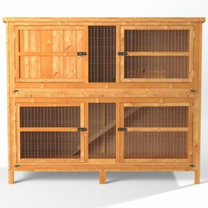 4ft Chartwell Double Rabbit Guinea Pig Hutch
