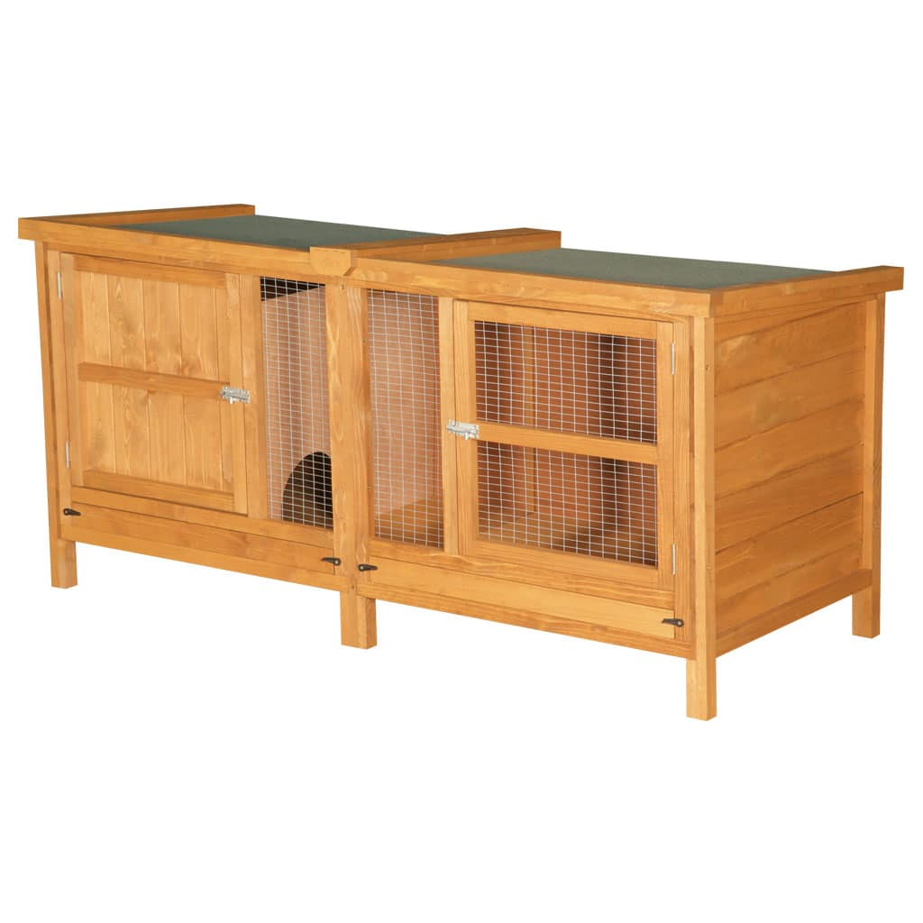 Home roost 6ft chartwell single luxury rabbit hutch for 5 foot rabbit hutch
