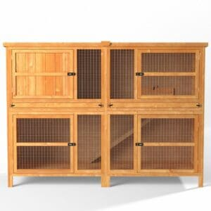6ft Chartwell Double Guinea Pig Hutch