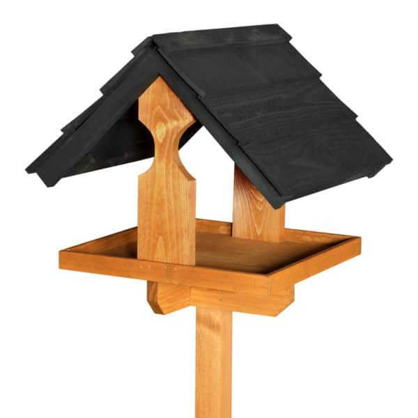 Black Sarre Bird Table