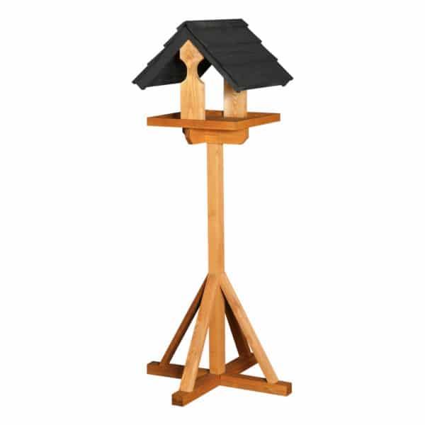 Black Sarre Bird Table
