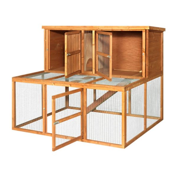 4ft Kendal Guinea Pig Hutch and Run