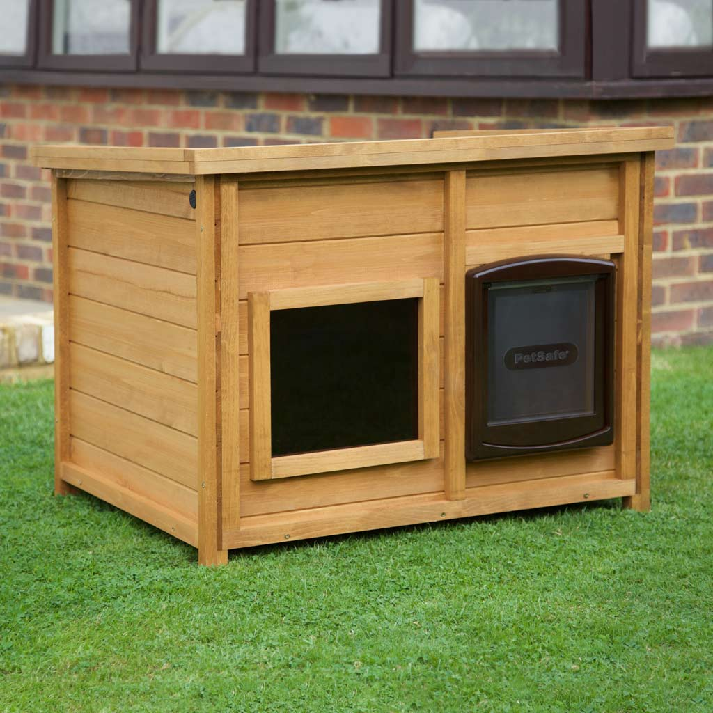 Home Amp Roost Self Heating Outdoor Dog Kennel Magnetic