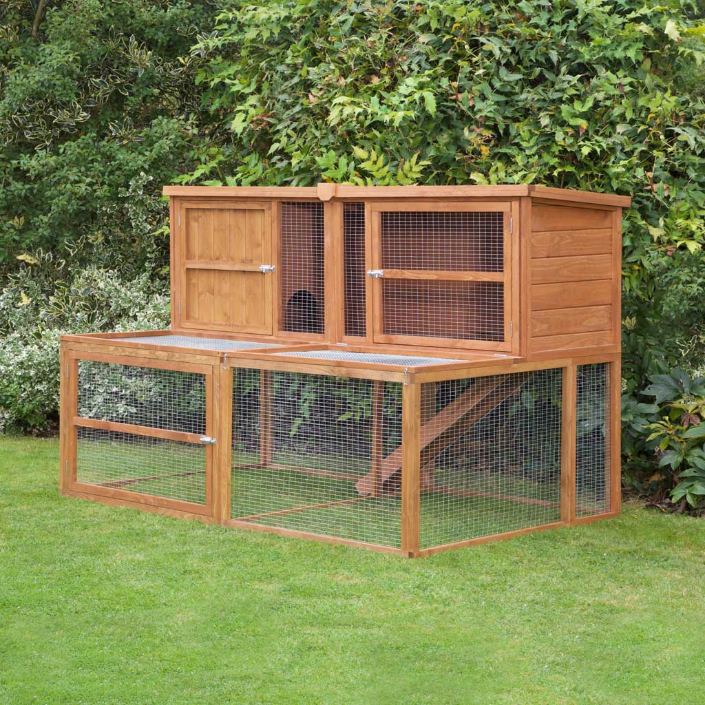 Home Roost 6ft Kendal Guinea Pig Hutch Run Rated Number 1