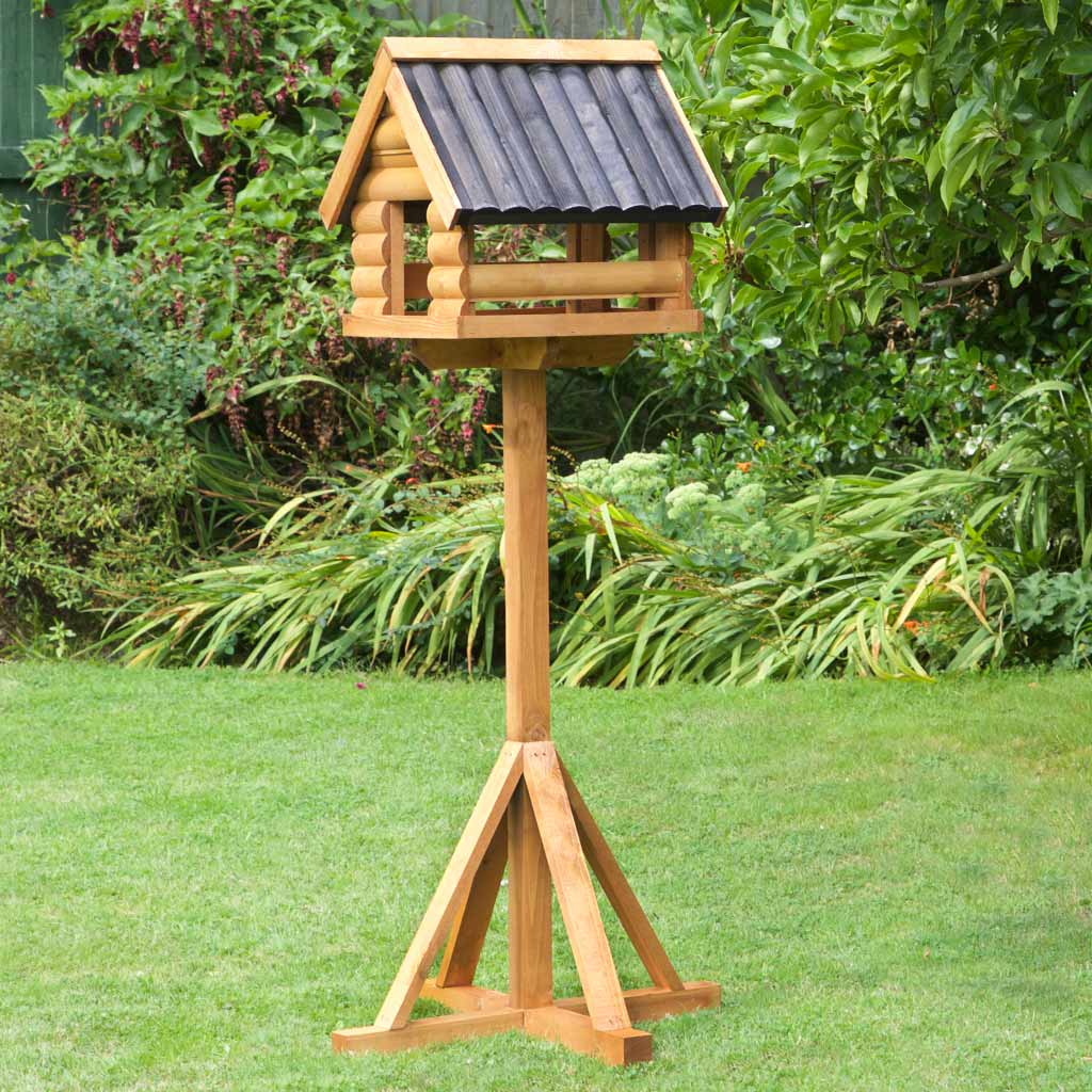 Fordwich Black Wild Garden Bird Table
