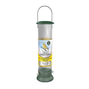 Peckish All Weather Sunflower Heart Metal Bird Feeder