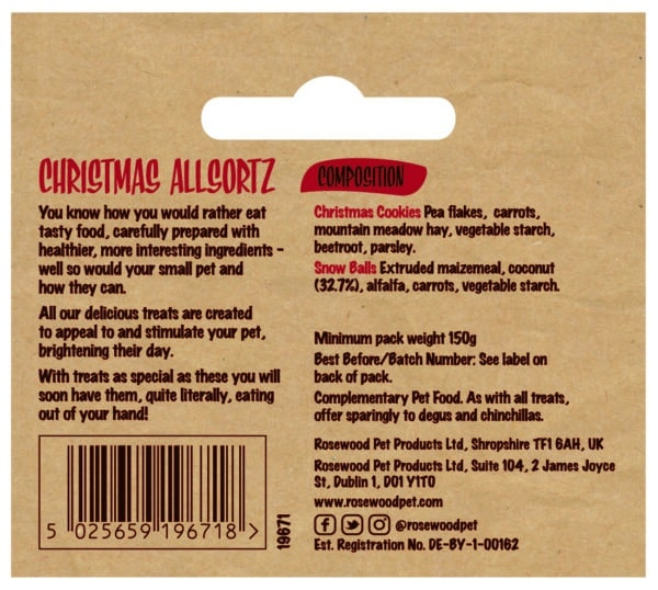 Allsortz Ingredients